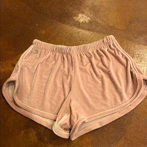 Velvet brandy Melville shorts